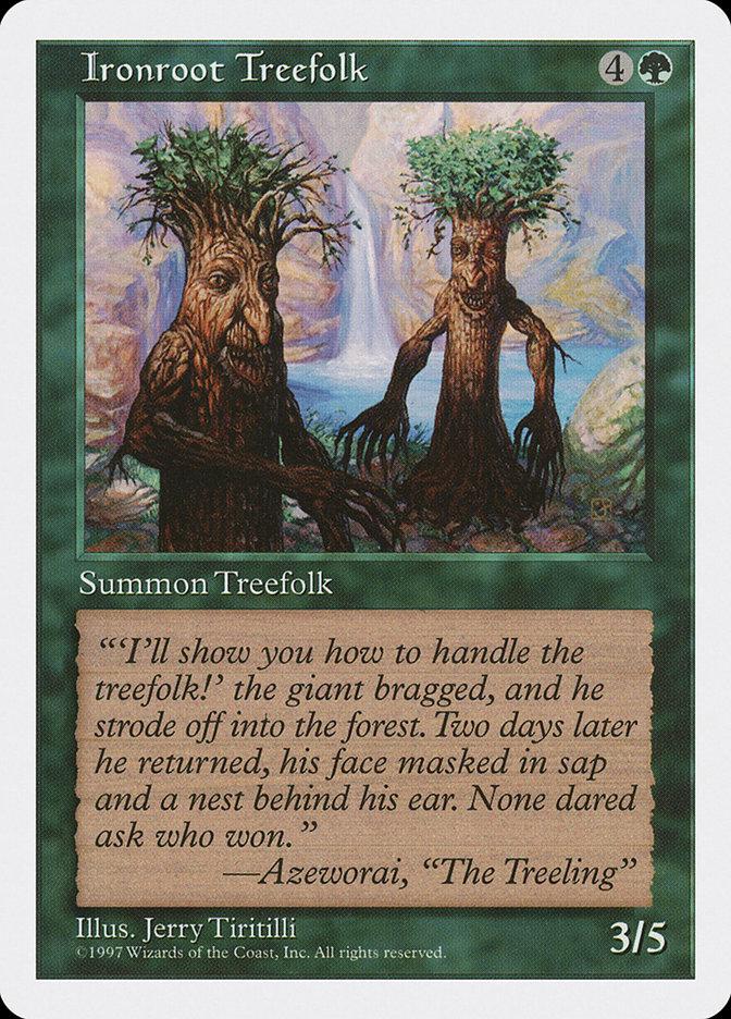 Ironroot+Treefolk
