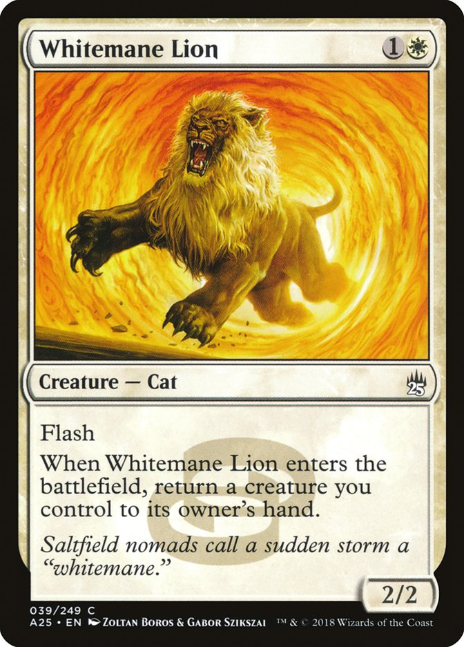 Whitemane+Lion