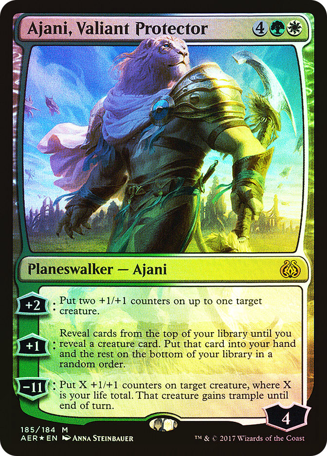 Ajani%2C+Valiant+Protector