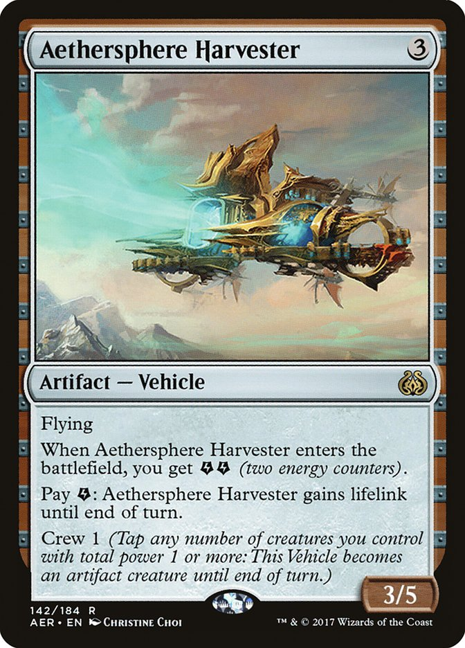 Aethersphere+Harvester