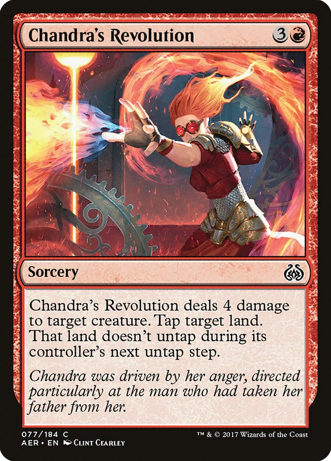 Chandra%27s+Revolution