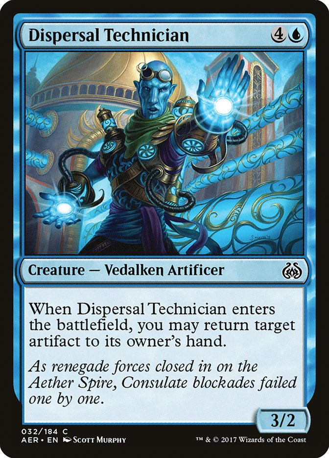 Dispersal+Technician