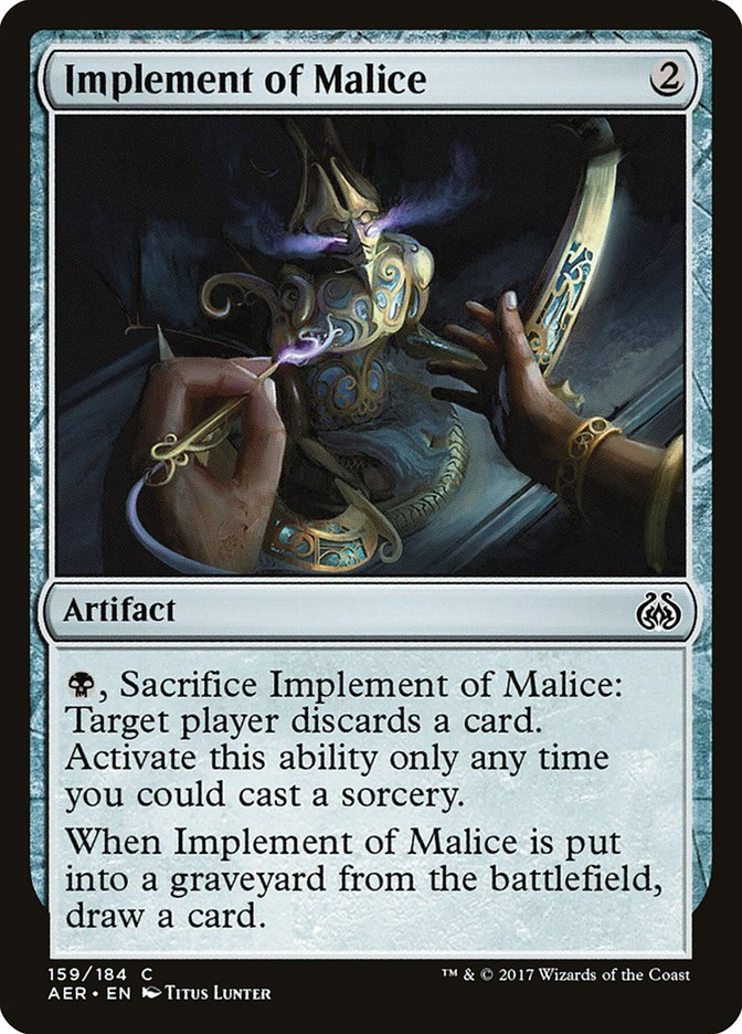 Implement+of+Malice