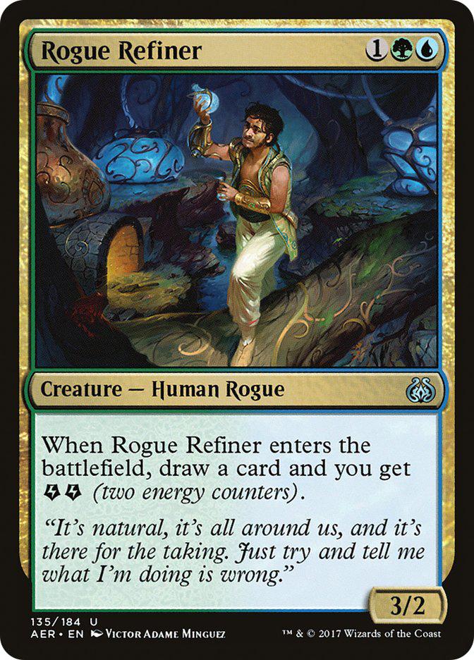 Rogue+Refiner