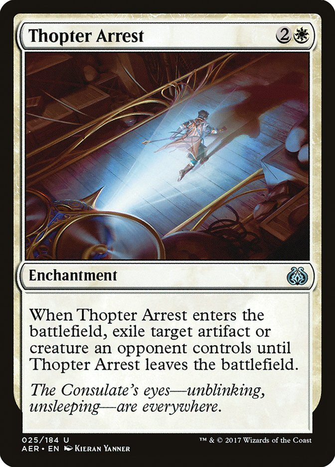 Thopter+Arrest