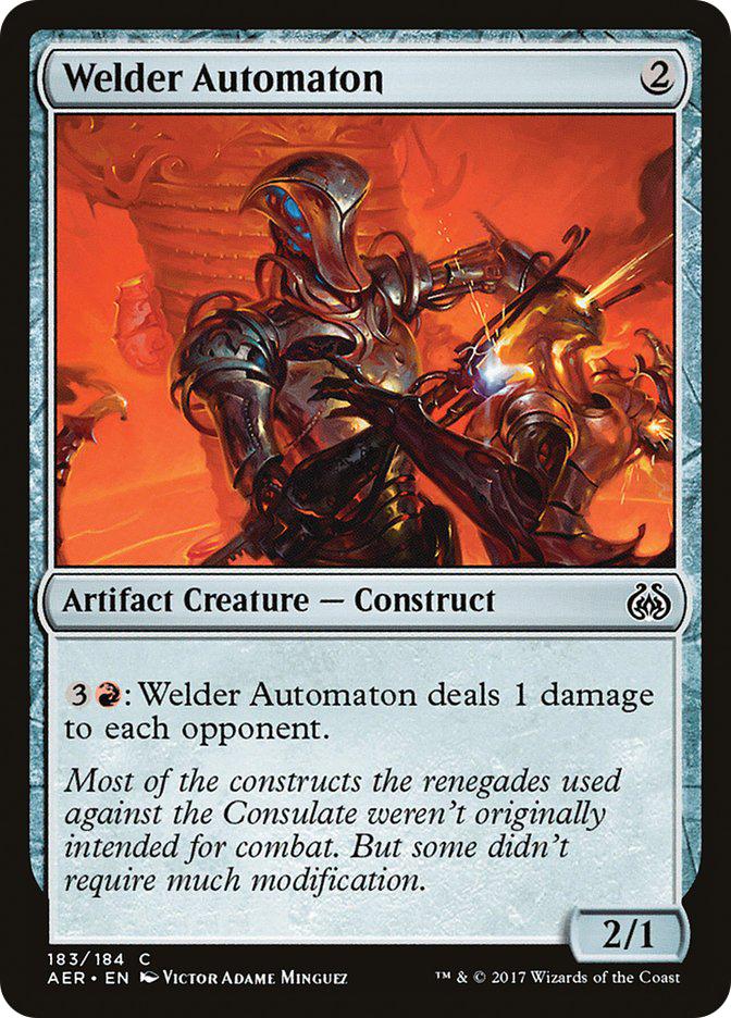 Welder+Automaton