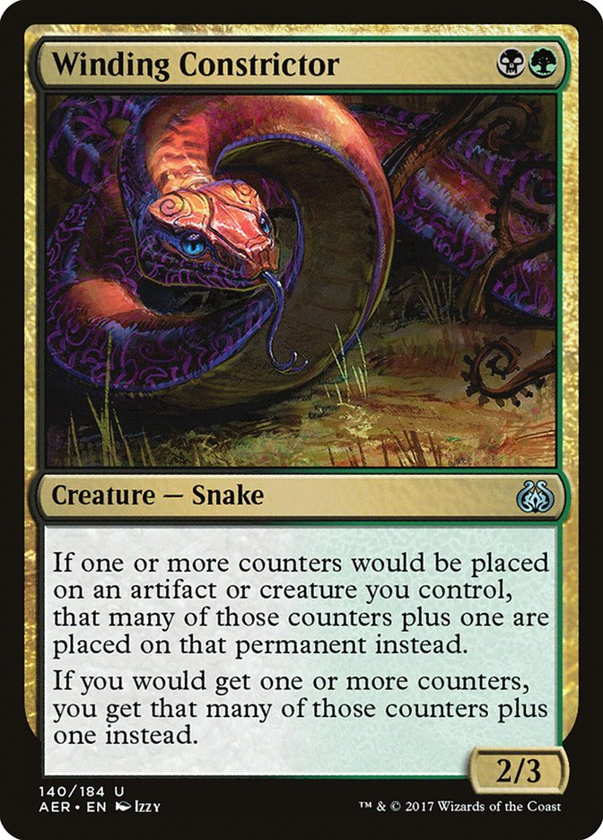 Winding+Constrictor