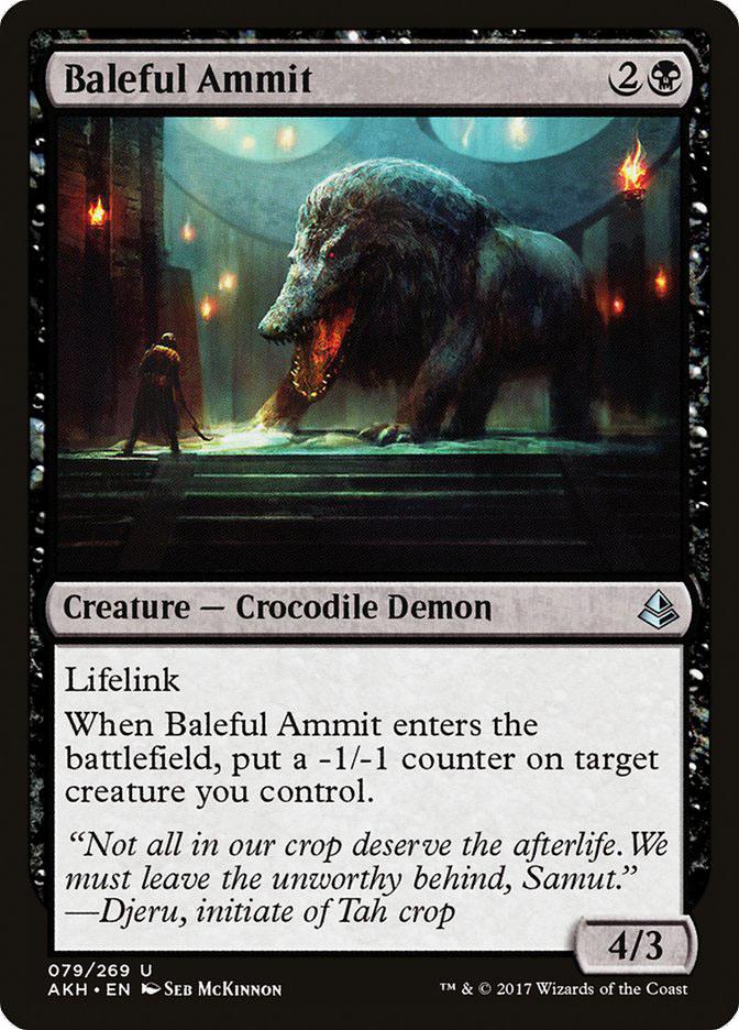 Baleful+Ammit