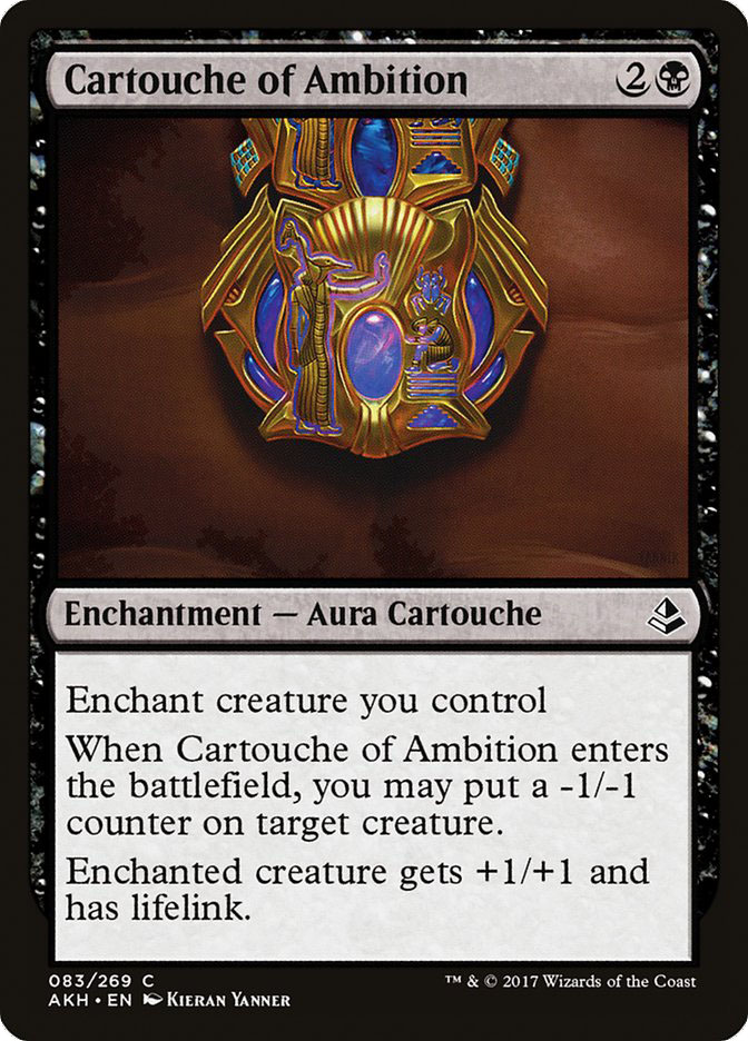 Cartouche+of+Ambition