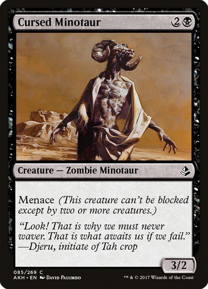 Cursed+Minotaur