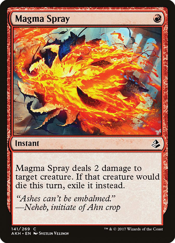 Magma+Spray