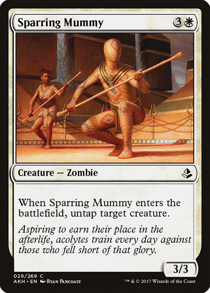 Sparring+Mummy
