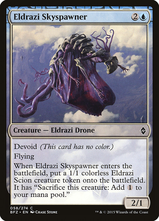 Eldrazi+Skyspawner