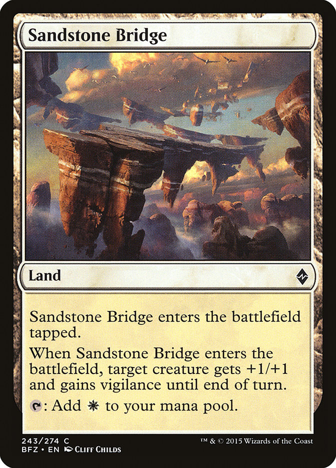 Sandstone+Bridge