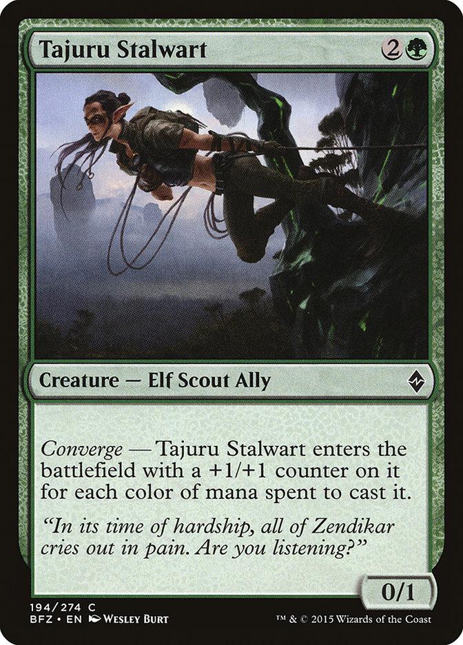Tajuru+Stalwart