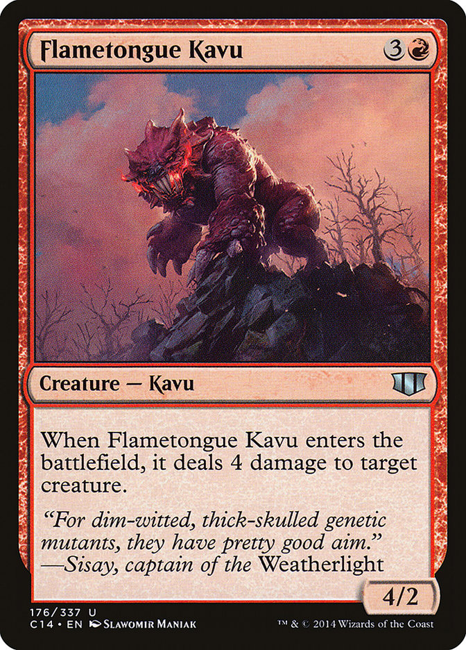 Flametongue+Kavu
