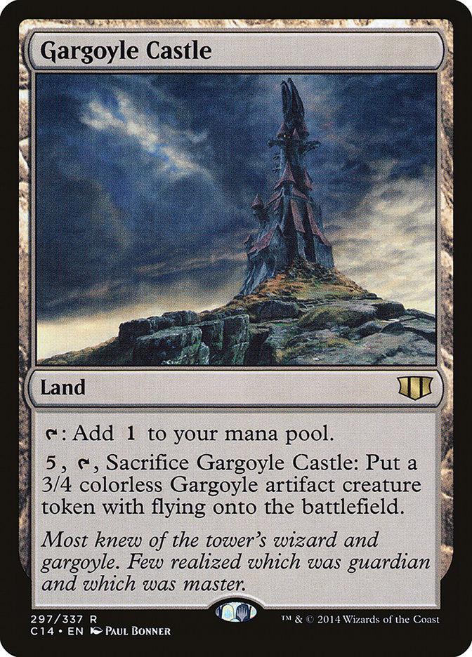 Gargoyle+Castle