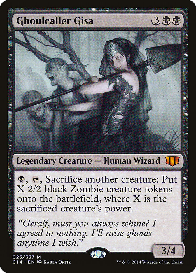 Ghoulcaller+Gisa