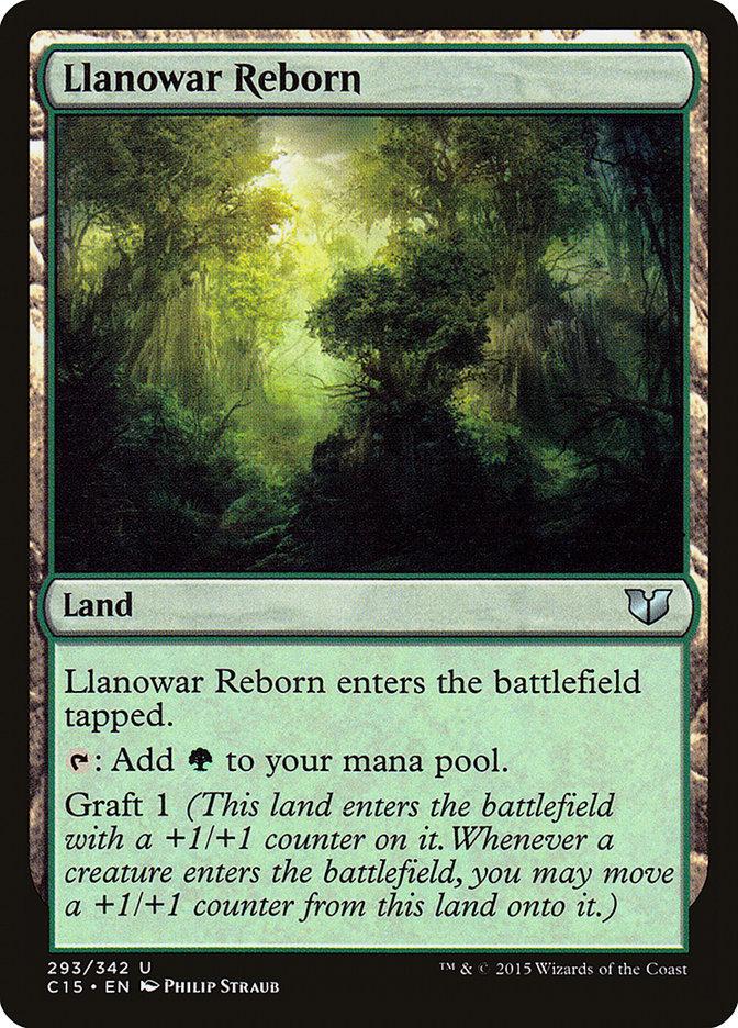 Llanowar+Reborn