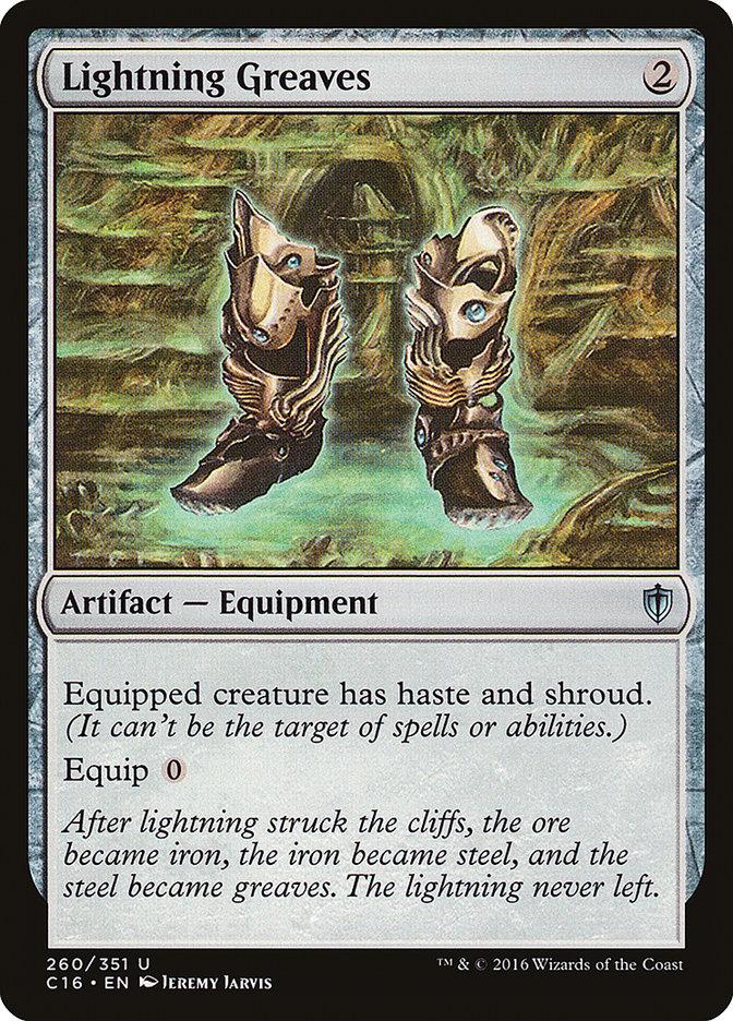 Lightning+Greaves