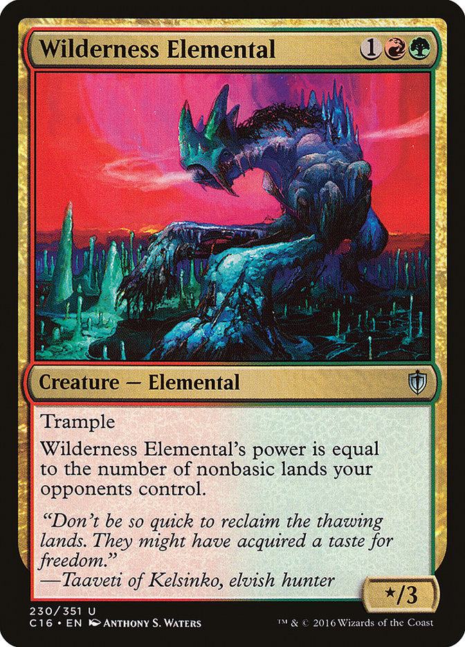 Wilderness+Elemental