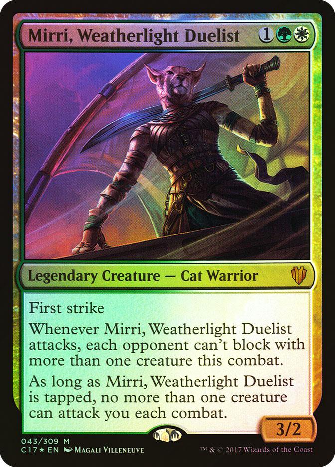 Mirri%2C+Weatherlight+Duelist