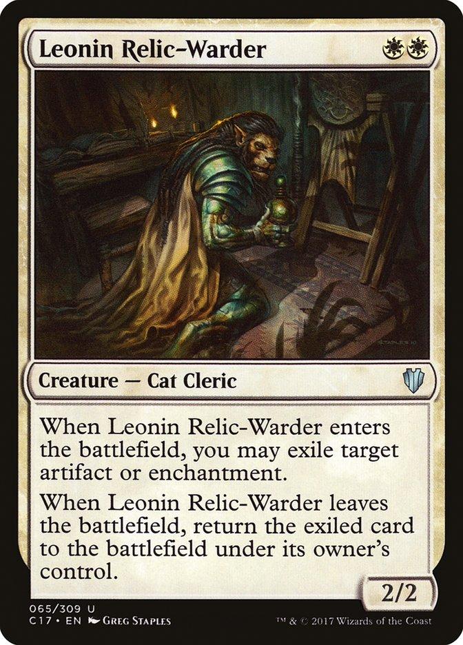 Leonin+Relic-Warder