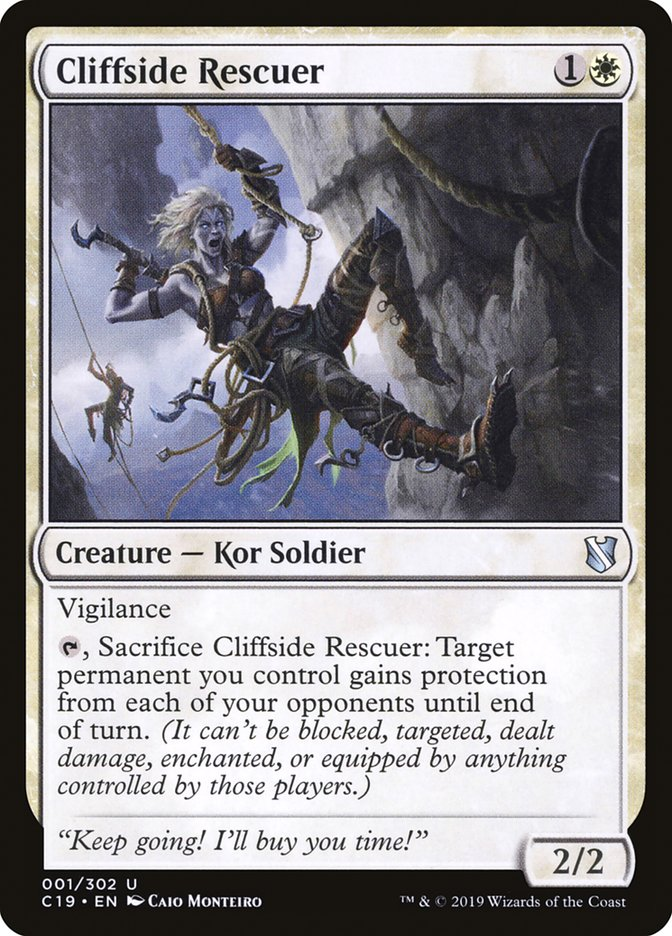 Cliffside+Rescuer