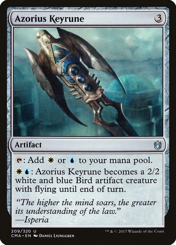 Azorius+Keyrune