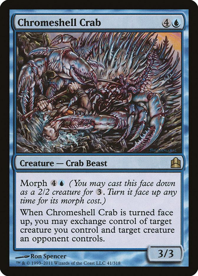 Chromeshell+Crab