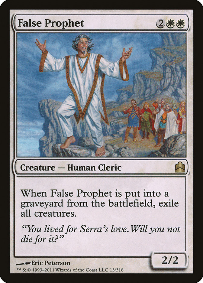 False+Prophet