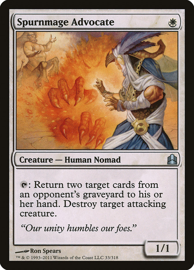 Spurnmage+Advocate