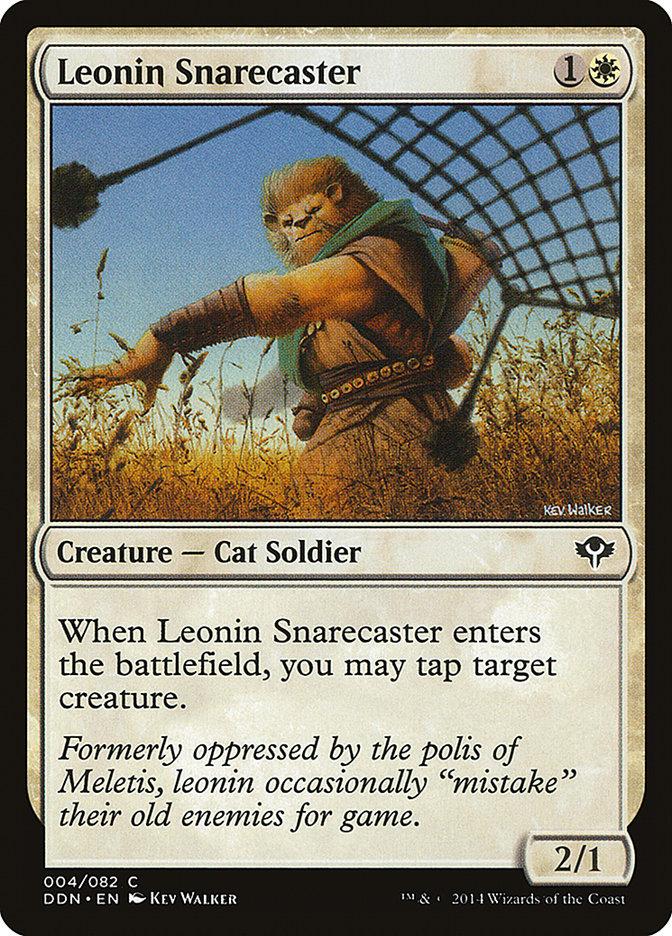 Leonin+Snarecaster