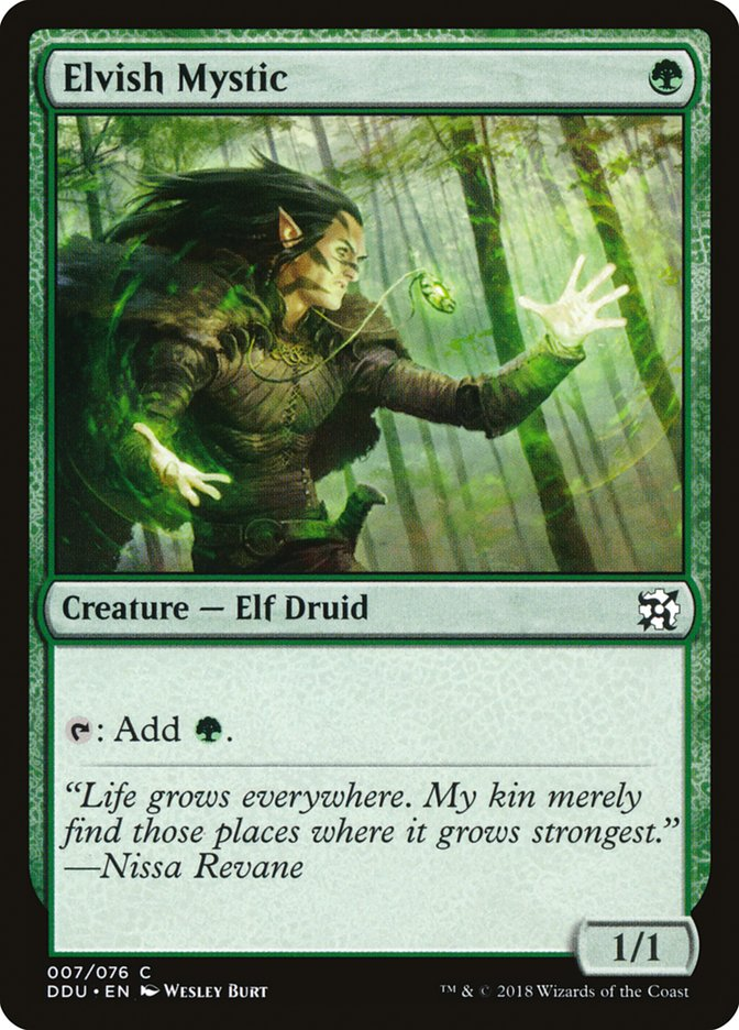 Elvish+Mystic