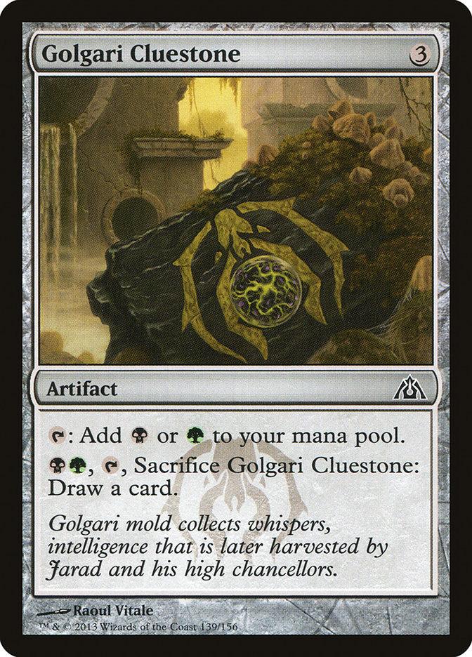 Golgari+Cluestone