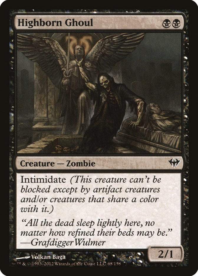 Highborn+Ghoul