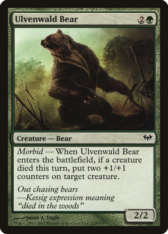 Ulvenwald+Bear