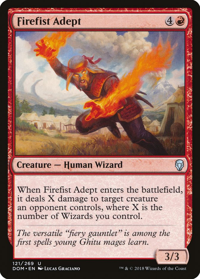 Firefist+Adept
