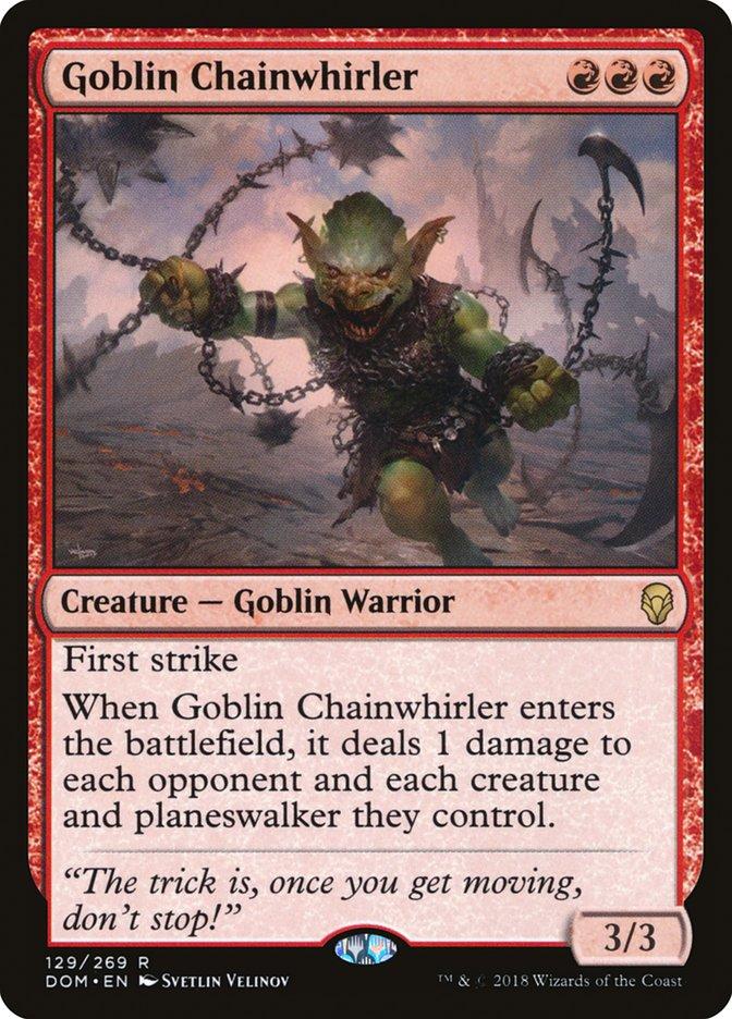 Starcitygames Com Goblin Chainwhirler Will Still Beat You