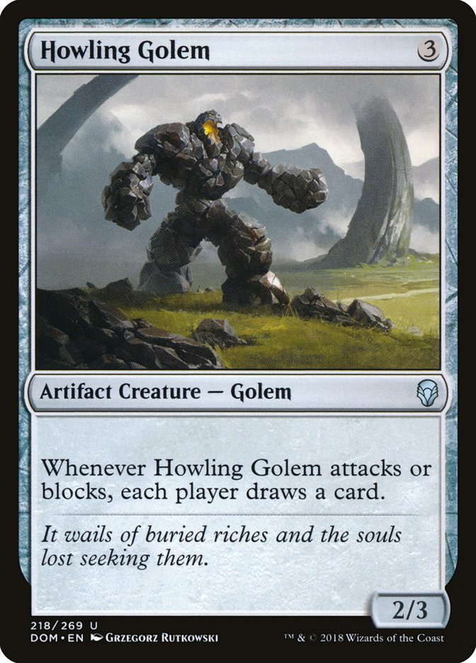 Howling+Golem