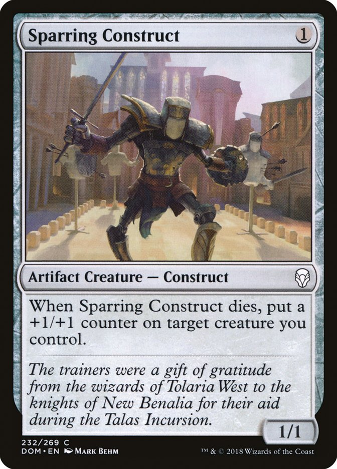 Sparring+Construct