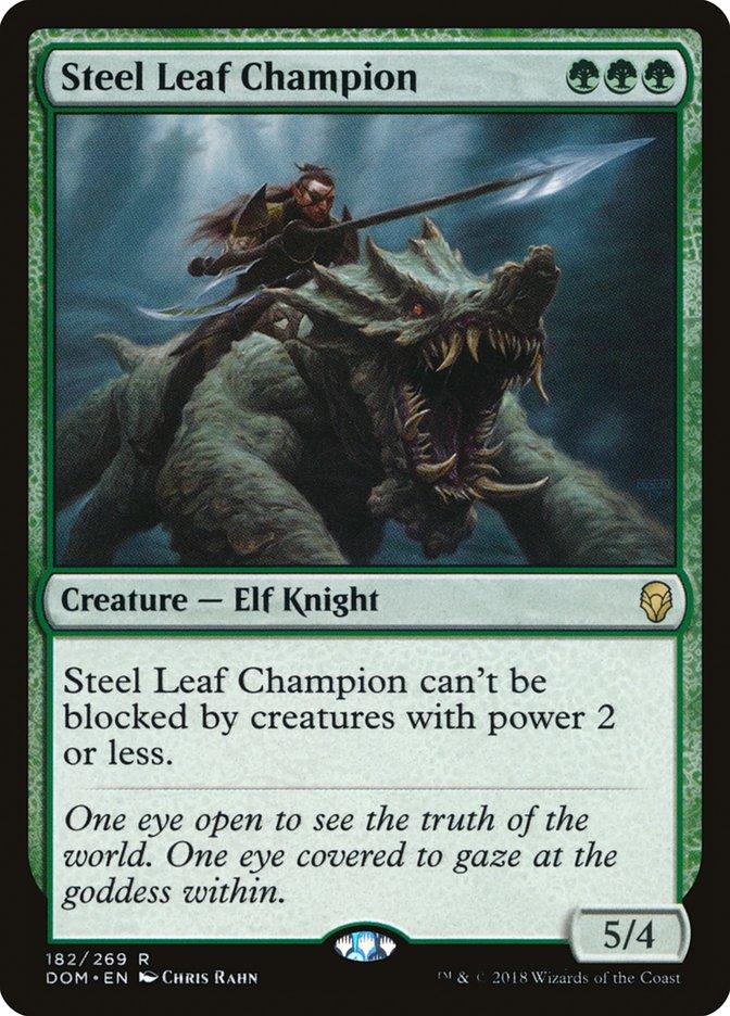 Steel+Leaf+Champion