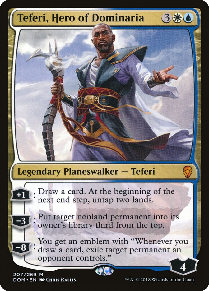 Teferi%2C+Hero+of+Dominaria