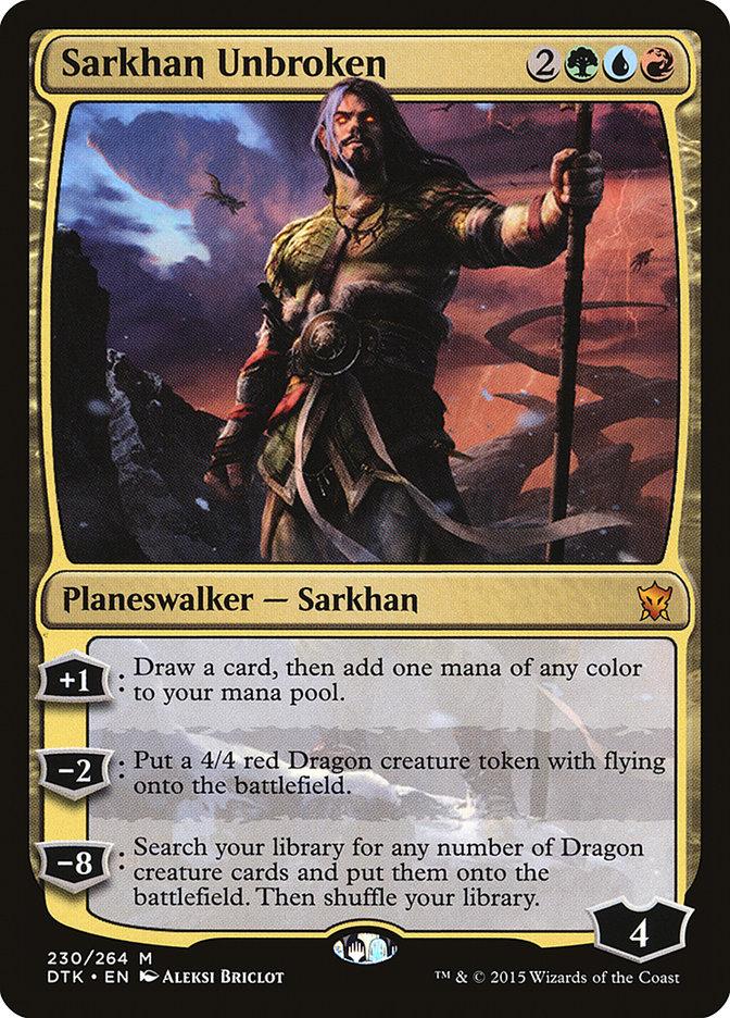 Sarkhan+Unbroken