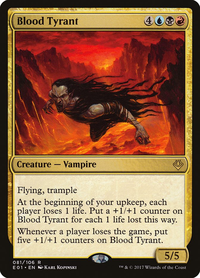 Blood+Tyrant