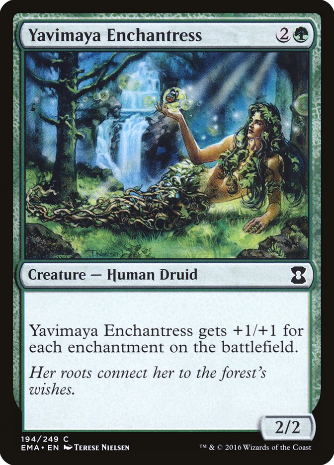 Yavimaya+Enchantress