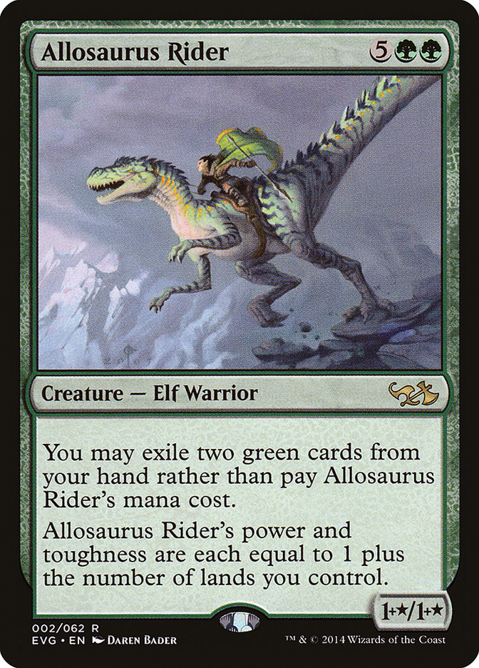 Allosaurus+Rider