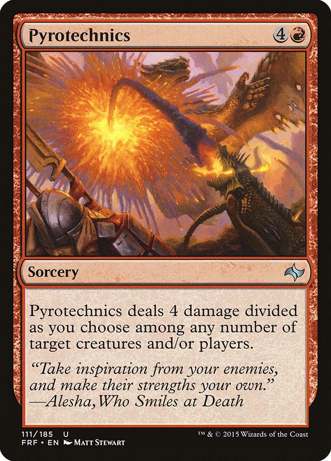 Pyrotechnics