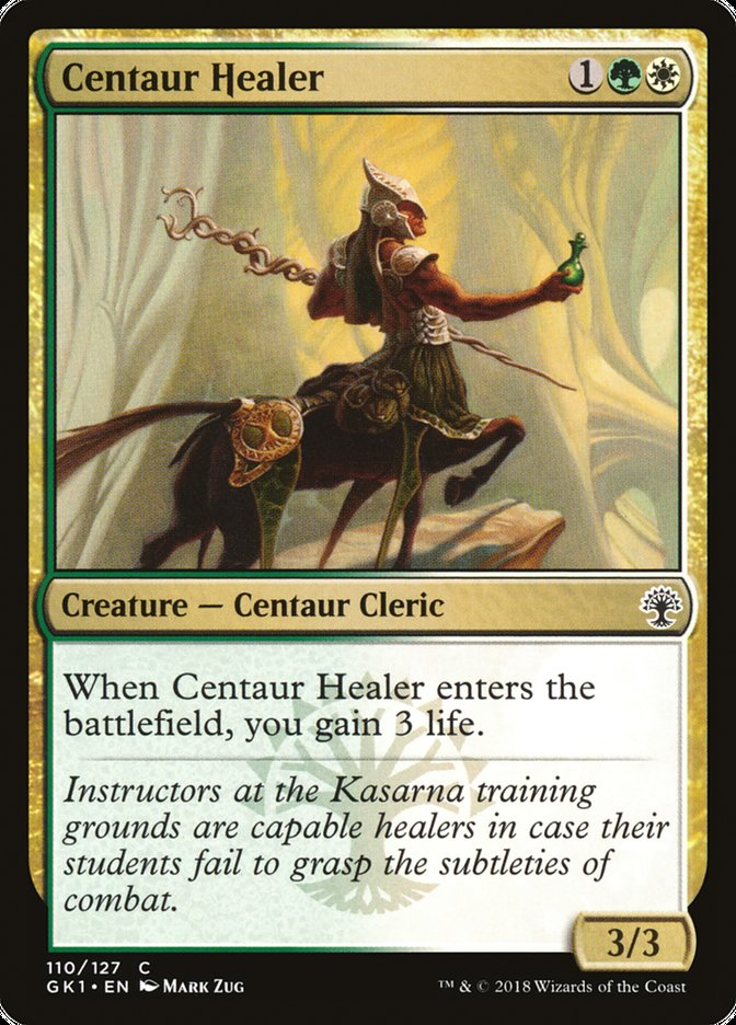 Centaur+Healer