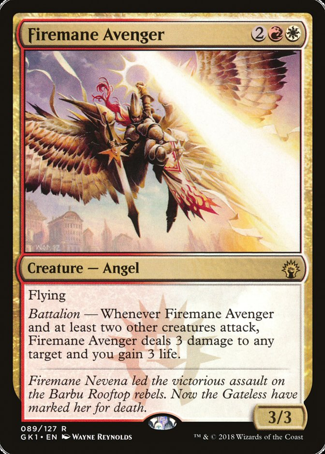 Firemane+Avenger